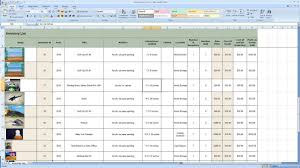 Inventory Control Template For Excel Sheet Free Retail