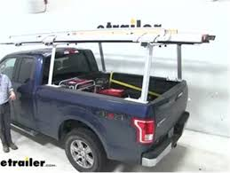 Buyers Products Over-The-Cab Truck Bed Ladder Rack Review Video ...