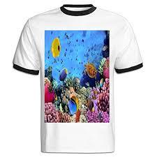 Amazon Com Jackjom Underwater Hd Landscape Hit Color Shirts