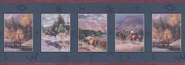 cowboy wallpaper border western