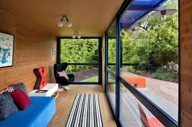 Shipping Container Guest House By Jim Poteet - Shipping container house interior