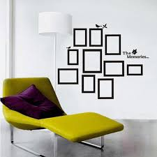 frame the memories quote wall decal sticker living framed wall art for bedroom on quote wall art frames with frame the memories quote wall decal sticker living framed wall art