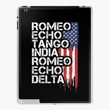 While he never actually served in the us military, he has a passion for writing about military related topics. Retired First Responders Retirement Gift Military Police Fire Nurse Ems Dispatch Corrections Phonetic Alphabet American Flag Ipad Case Skin By Suckerhug Redbubble