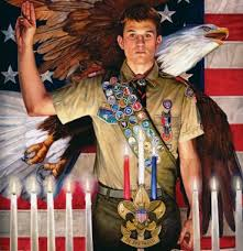 Eagle Scout Requirement    Attach to this application a statement of your  ambitions and life purpose and a listing of positions held in your  religious