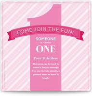 Free Online Birthday Invitations To Email 1st Birthday Party Invitations Pingg Com
