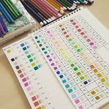Faber Castell Classic Colour Chart