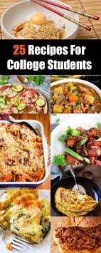 Good Food Recipes For College Students