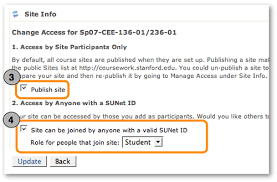 course management coursework help resources managing access to a course site