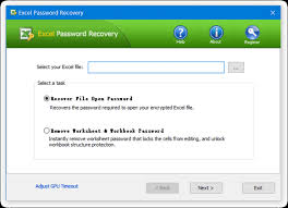 Encrypted Excel Files How To Recover Excel Password If You Forgot Or Misplace The