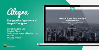 Muse Website Templates Interesting Alegra Portfolio Muse Theme By EAMejia ThemeForest