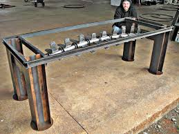 industrial furniture table. Interesting Table Industrial Metal Furniture Stephen Fitz Gerald Fine Art With Table