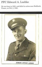 PFC Edward A Luebke (1925-1945) - Find A Grave Memorial