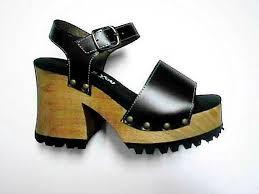 file platform sandal wooden sole black jpg