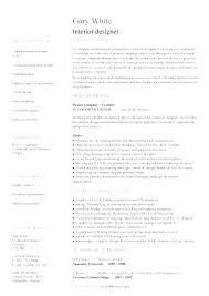 Designer Resume Templates Beauteous Interior Design Resume Sample Interior Designer Resume Samples
