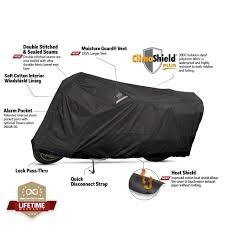 Dowco Weatherall Plus Motorcycle Cover Black