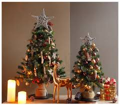 little artificial christmas trees
