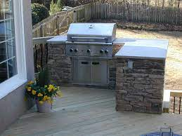 Outdoor Grills Built In Plans Outdoor Kitchen On Deck Outdoor Kitchens Photo Gallery Archadeck Small Outdoor Kitchens Outdoor Grill Area Patio Grill