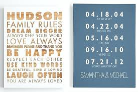 family wall art personalized family wall art family rules wall art excellent thankful canvas wall