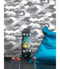 this cool camouflage wallpaper comes in