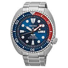 men s watches men s designer watches john lewis buy seiko srpa21k1 men s prospex padi day date automatic bracelet strap watch silver blue