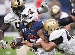 North Texas Football Depth Chart Utsa Quarterback Frank Harris To Be Out Quite Some Time