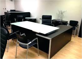 clear office desk. Large Glass Office Desk Black Top Clear Bent Curved Modern Design For Furniture Full Size