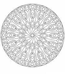 Kleurplaat Mandala Voorjougespotnl