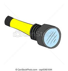 isolated cartoon torch light jpeg csp45481644