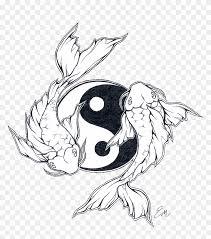 Koi Fish Design Koi Fish Design By Les Belles Soeurs Ying Yang Fish Tattoo