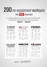 200 no equipment workouts