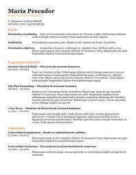 Formatos De Boletines Informativos Plantillas Para Curriculum Gratis En Formato Word