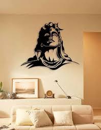 creative wall painting buddha wall art