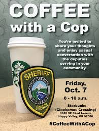 Coffee With A Cop Flyer Sheriffs Office Invites Public To Coffee With A Cop