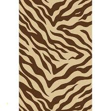 brown zebra rug unique zebra brown non skid rug 5 x 7 free today