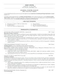Business Data Analyst Sample Resume Cool Business Analyst Sample Resumes Sample Resumes For Business Analyst
