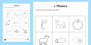 Download, print, or use the kindergarten our free phonics worksheets are great for everybody! L Phonics Coloring Worksheet Worksheet Teacher Made