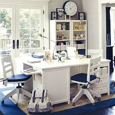 kids study furniture. blue white study room kids furniture
