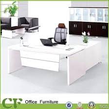 deluxe wooden home office. Fine Deluxe White Wood Office Desk China Secretary Wooden Executive With Top    To Deluxe Home