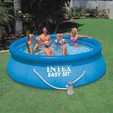 Easy Set Inflatable Pool Set Summer Fun From Kmart