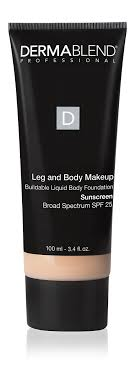 dermablend leg and body makeup foundation with spf 25 3 4 fl oz