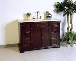 single bathroom vanities ideas. Mesmerizing Designs With Dark Brown Bathroom Vanity : Engaging Decorating Ideas Using Rectangular Wooden Single Vanities R