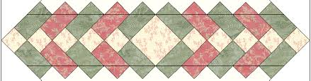 Free Table Topper Quilt Pattern & Easy Free Table Topper Final Cutting Step Adamdwight.com