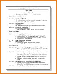Skills Based Resume Template Fitted Picture Cv Uk Examples Of