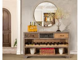 wine rack console table. Hillsdale Furniture Bolero Console Table With Wine Rack 4045-894