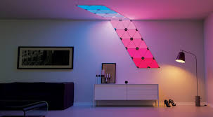 led aurora light panels