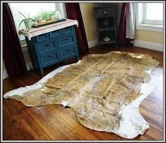 cow skin rugs nz