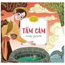 Sách - Truyện cổ tích Việt Nam cho bé mẫu giáo - Tấm Cám - NXB Kim Đồng  chính hãng