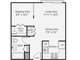 522 sq ft studio apartment layout ------- http:/  Apartment Floor PlansAttic  ...