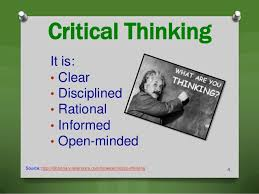 The Rock   Roll Shrink Ep      Critical Thinking Skills       by        Critical thinking