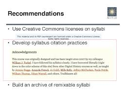 How To Write A Syllabus Acknowledgments On Syllabi Triproftri